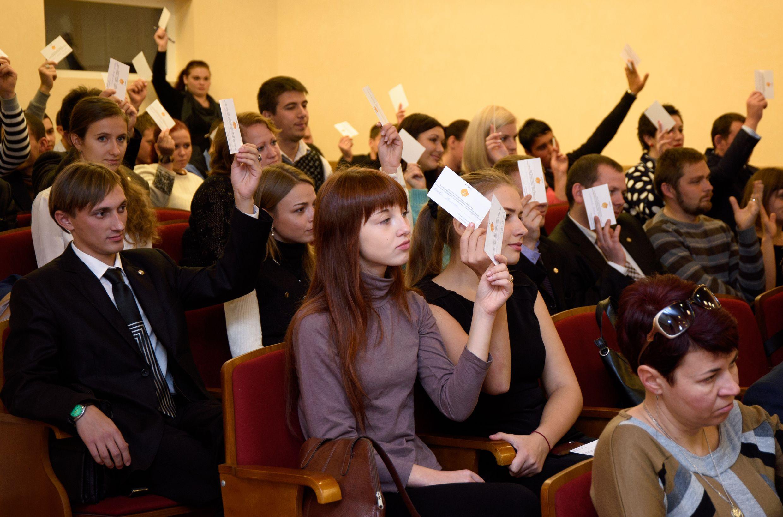 Керчане приняли участие в объединении крымской молодёжи