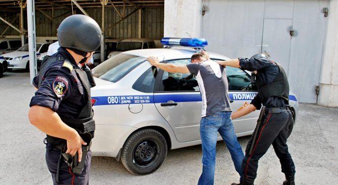 В Симферополе определили лучшую команду среди групп задержания вневедомственной охраны полиции Республики Крым
