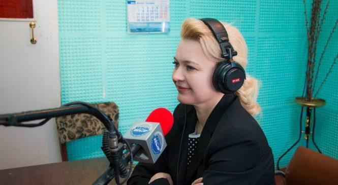 Лариса Щербула поздравила керчан со Всемирным днем радио