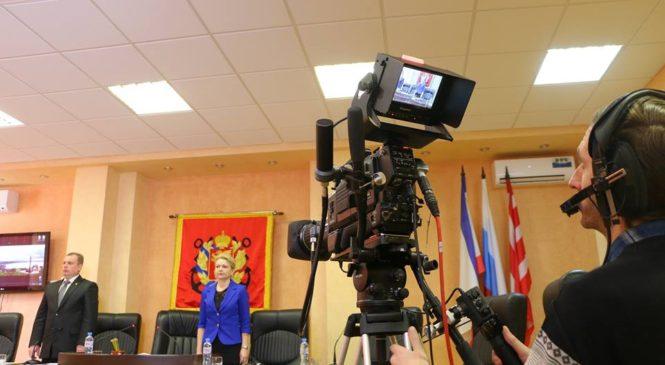 На 63-й сессии горсовета руководство города отчиталось за 2016-й год