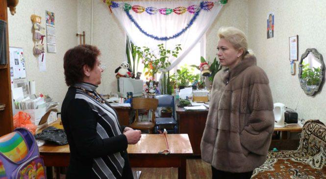 Лариса Щербула будет инициировать проведение ремонта в выделенном обществу инвалидов помещении