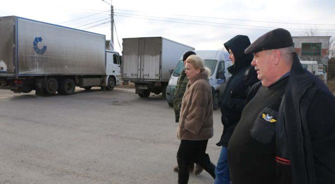 Лариса Щербула посетила керченский аэропорт