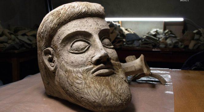 Голова древней скульптуры: уникальная археологическая находка на строительстве Крымского моста