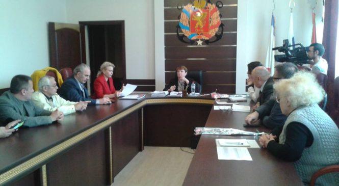 На заседании Общественного совета рассмотрели проект филиала Военно-патриотического парка «Патриот»