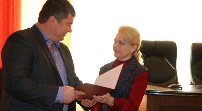 Лариса Щербула поздравила сотрудников ГУП РК «Вода Крыма»