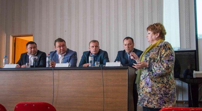 В Керчи состоялись общественные слушания по вопросу строительства нового здания Пенсионного фонда