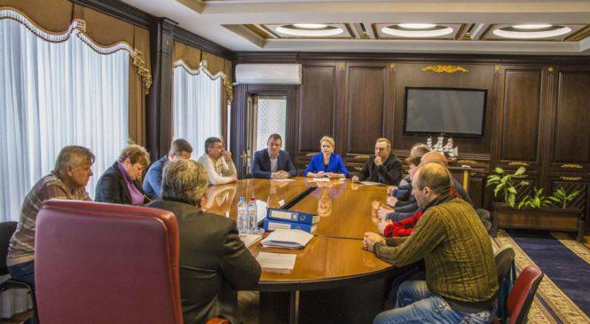 В горсовете прошло совещание с участием представителей ГУП РК «Крымские морские порты»