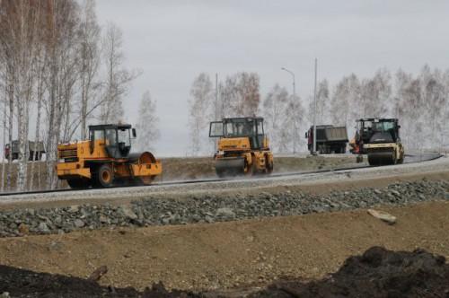 Строительство трассы «Дубки-Левадки» идет по графику