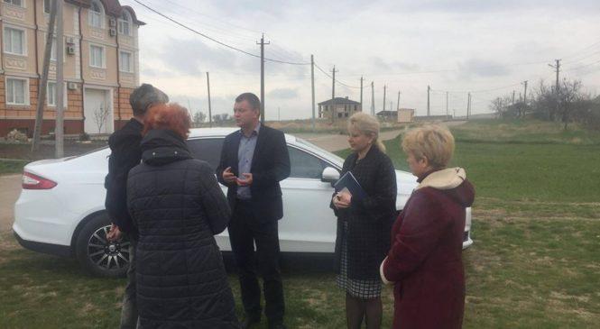 Председатель горсовета встретилась с общественным самоуправлением «Эльтиген»
