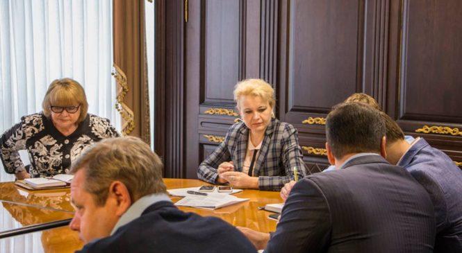 Глава горсовета приняла участие в работе аппаратного совещания в администрации города