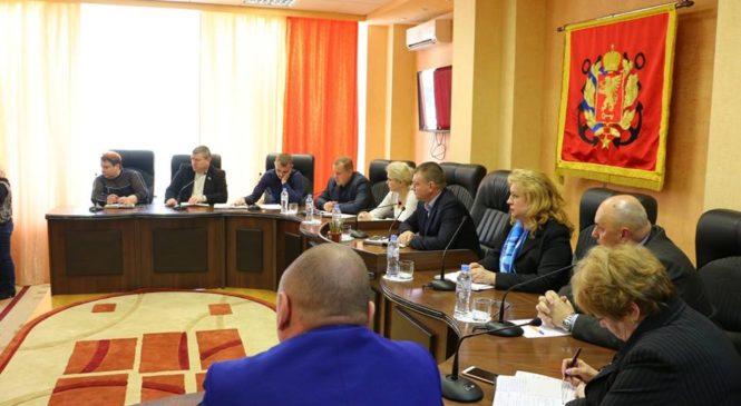 В горсовете прошло расширенное совещание по вопросам работы муниципального рынка