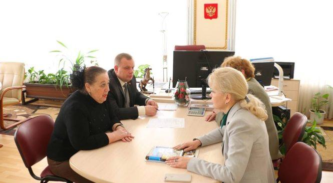 Лариса Щербула встретилась с председателем общины Прогрессивного иудаизма