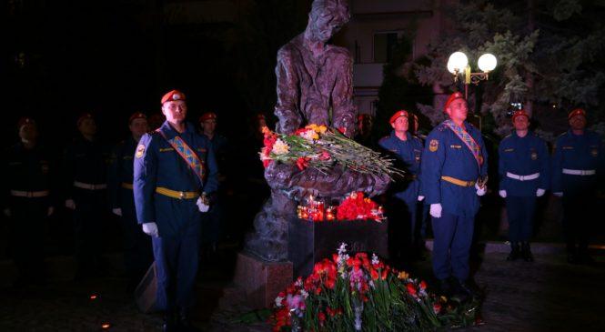 В Керчи вспоминали трагедию на Чернобыле