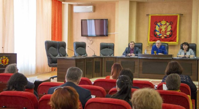 Прошло совещание по подготовке празднования 73-й годовщины освобождения Керчи