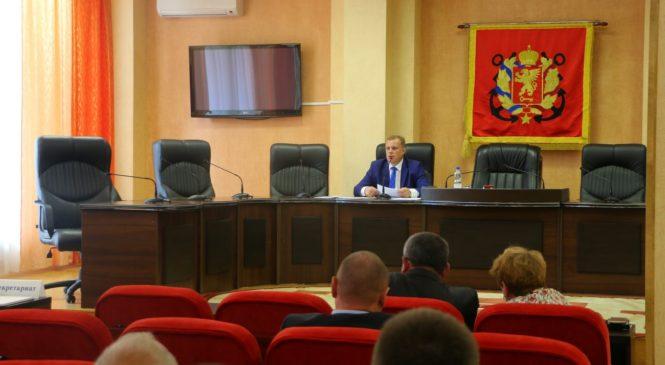 14 сентября в 10 утра состоится внеочередная 78 сессия горсовета
