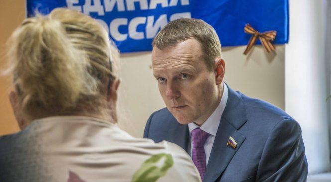 Депутат Госдумы Константин Бахарев провел прием в Керчи