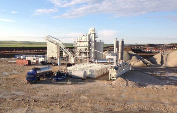 На строительстве автоподходов к мосту через Керченский пролив запустили асфальтобетонный завод