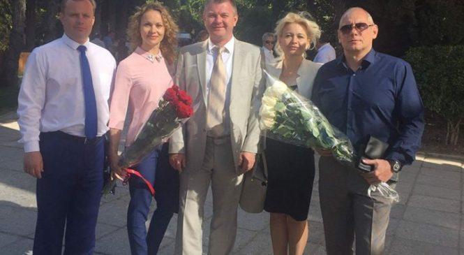 Лариса Щербула приняла участие в церемонии открытия фестиваля «Великое русское слово»