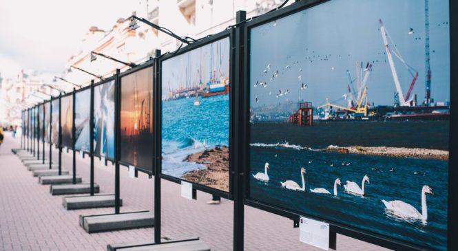На Старом Арбате открылась фотовыставка про Крымский мост