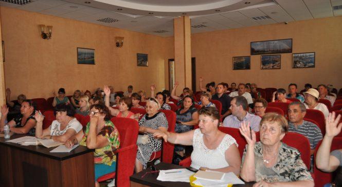 Прошло заседание по подготовке публичных слушаний