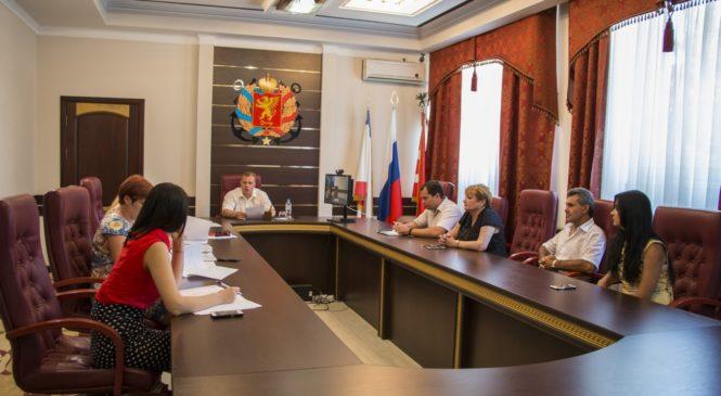 В горсовете состоялось заседание рабочей группы по обсуждению Генплана города