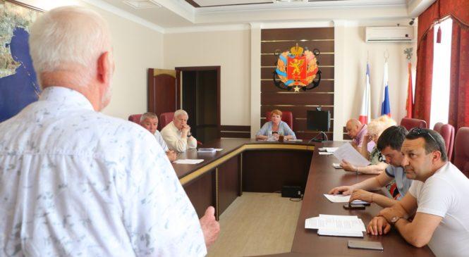 Общественный совет Керчи провел свое 22 заседание