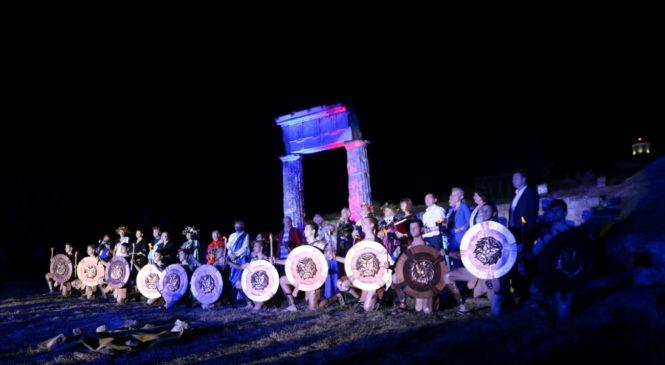 Лариса Щербула приняла участие в церемонии открытия XIХ Международного фестиваля античного искусства «Боспорские агоны»
