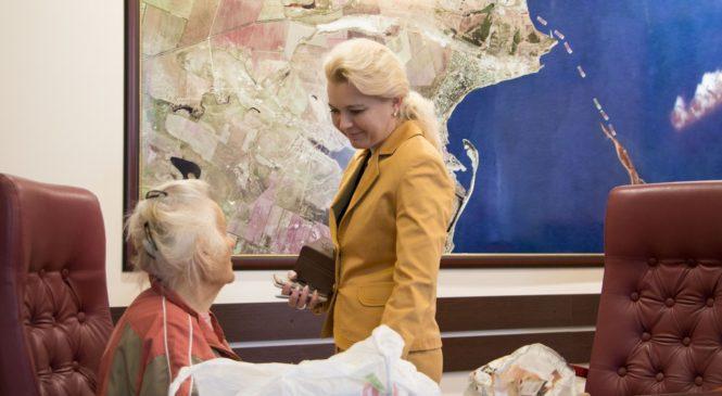 Лариса Щербула провела прием граждан