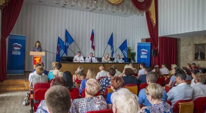 Конференция единороссов выдвинула кандидатуру Николая Гусакова на пост главы муниципального образования