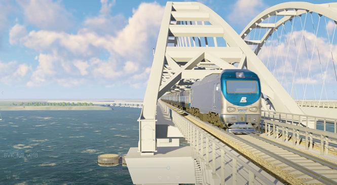 Арки Крымского моста воссозданы в максимально точной 3D-модели