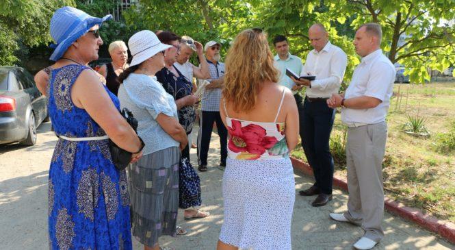 Сходы по вопросу благоустройства дворов прошли по адресу шоссе героев Сталинграда, 4
