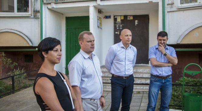 Николай Гусаков провел сход граждан на Верхнем Солнечном