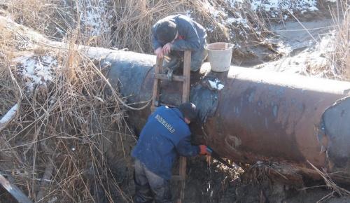 Порыв водовода по заявлению керчанки устранен
