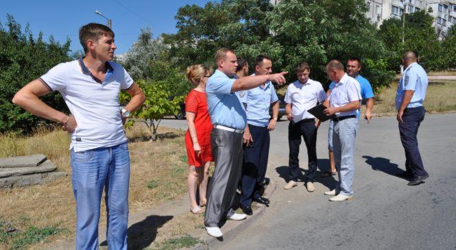 В Керчи состоялось выездное совещание комиссии по обеспечению безопасности дорожного движения