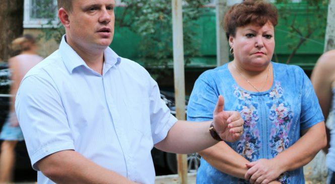 Состоялась встреча с жителями дома №2 Б по улице Горького