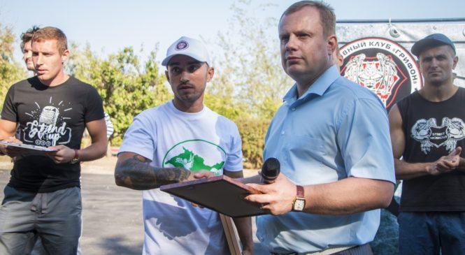 Николай Гусаков приветствовал участников турнира по воркауту «Кубок грифона — 2017»