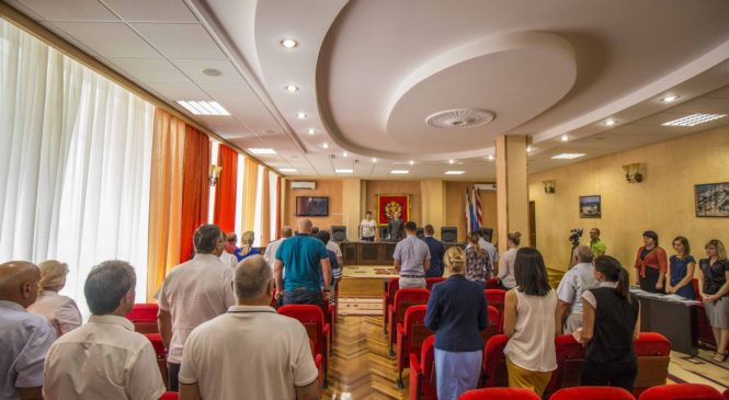 В Керчи состоялась 77 сессия городского совета