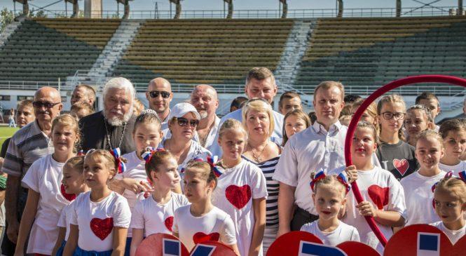 На стадионе им. 50-летия Октября стартовал фестиваль единоборств «Воин Боспора»