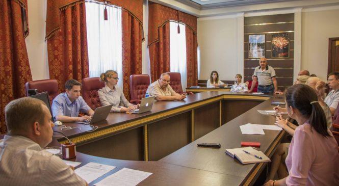 Заседала группа по разработке стратегии города в направлениях градостроительства, архитектуры, земельных отношений и ЖКХ
