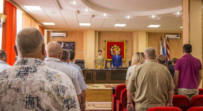 Состоялась 78 сессия Керченского городского совета
