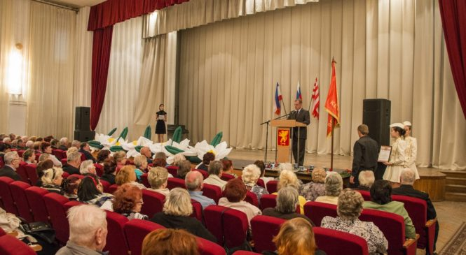 В Керчи чествовали пожилых людей