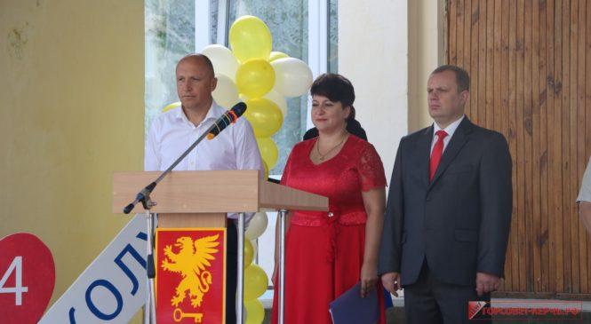Николай Гусаков поздравил с Днем знаний учеников школы №24