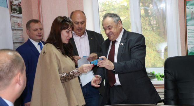 Ефим Фикс и Николай Гусаков провели встречу с представителями «Объединения предпринимателей Керчи»