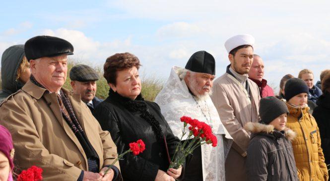 В Героевке перезахоронили останки неизвестных солдат