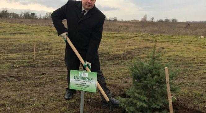 Глава муниципального образования принял участие в акции «Посади своё дерево»