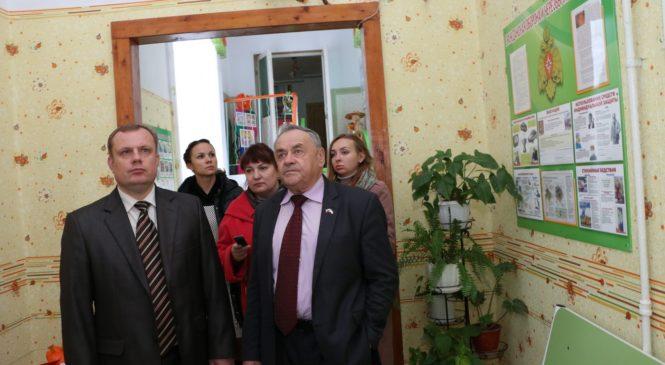 Глава муниципального образования и вице-спикер Госсовета РК провели мониторинг температурного режима