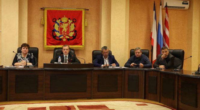 В городском совете прошло совещание по рассмотрению проекта бюджета города
