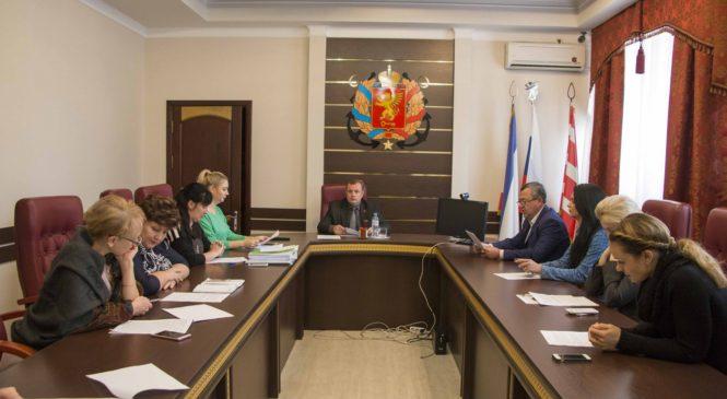Состоялось заседание комиссии о даче предварительного согласия передачи в аренду муниципального имущества