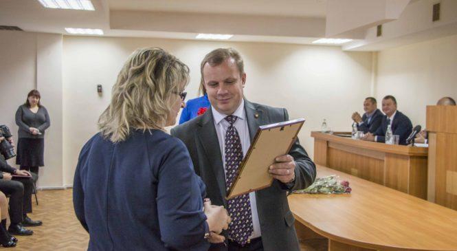 В Керчи поздравили сотрудников Федеральной налоговой службы
