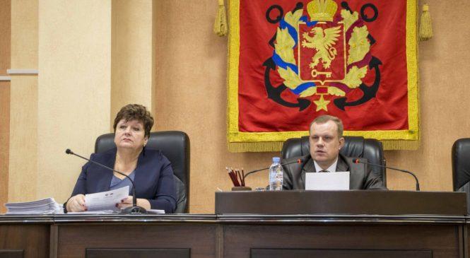 На 82-й сессии Керченского городского совета принят бюджет на 3 года в первом чтении